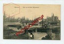 HARLEBEKE-Zicht Op De Statie-Periode Guerre 14-18-IWK-BELGIQUE-BELGIEN-Feldpost- - Harelbeke