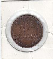ONE CENT Cuivre - Zinc 1952 D - 1909-1958: Lincoln, Wheat Ears Reverse