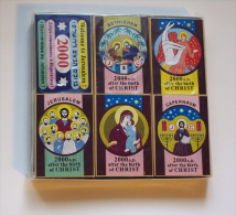 Collection Of Jesus Christ Matchboxes, #0121 ! - Matchboxes
