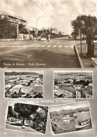 Toscana Marina Di Carrara Viale Litoraneo Vedutine Lotto 2 Cartoline 1960 1963 - Carrara