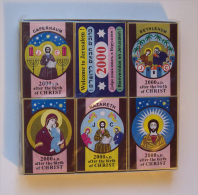 Collection Of Jesus Christ Matchboxes, #0123 ! - Matchboxes