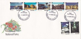 Australia 1979 National Parks FDC - Waterloo - Sobre Primer Día (FDC)