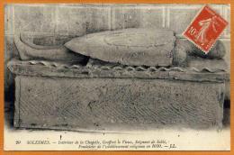 72 / SOLESMES - Tombeau De Geoffroi Le Vieux, Seigneur De Sablé (écrite En 1914) - Solesmes