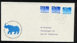 Netherlands 1981 Commemorative Cover Field Post Veldpost 15 Rhino (T197) - Period 1980-... (Beatrix)