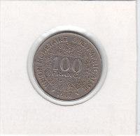 100 FRANCS Afrique De L'Ouest 1967 - Monnaies