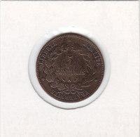 5  CENTIMES Bronze 1881 A - France