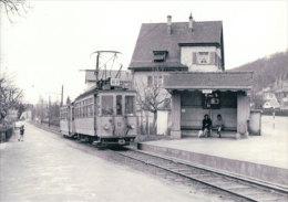 Tramways Balois, Arlesheim, Photo 1964 BVA , BEB 195.6 - BS Bâle-Ville