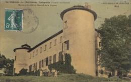 CPA - Chavaniac Lafayette - Le Château ( Aspect Occidental ) - Bureau Du Célèbre Général De La Fayette - France