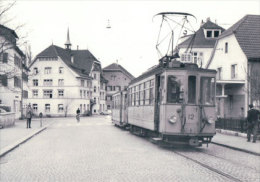 Tramways Balois, Dornach, Photo 1964 BVA , BEB 195.11 - BS Bâle-Ville