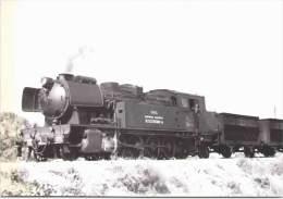 """242T """"Samper De Calanda"""" Fuel Remorque Une Rame De Trémies Vides Pour Andorra - 1976 - Trenes"""
