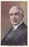 CPA - Président Warren G.harding - 10433 - Présidents