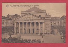 BRUXELLES [Bruxelles ~ Belgique] -->  Théâtre Royal De La Monnaie - Monumenti, Edifici