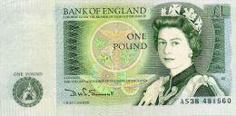 ROYAUME UNI : 1 £ 1981 (aunc) - 1952-… : Elizabeth II