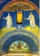 CARTOLINA MAUSOLE DI GALLA PLACIDIA RAVENNA - Quadri, Vetrate E Statue