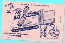 BUVARD Algerie Algeria France Publicité Pub Urgoplaste Pansement Antiseptique Pharmacie Antiseptic Dressing Lab Fournier - Drogisterij En Apotheek