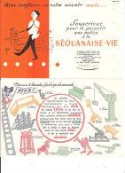 Lot  3 Buvard Séquanaise Alsa Mère Picon - Buvards, Protège-cahiers Illustrés