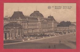 BRUXELLES [Bruxelles ~ Belgique] -->  Palais Du Roi - Monumenti, Edifici