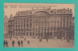 BRUXELLES [Bruxelles ~ Belgique] -->  Maison Des Anciens Ducs De Brabant (ancienne Bourse) - Monumenti, Edifici