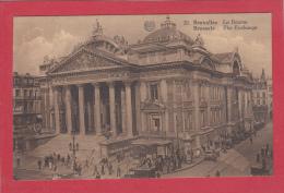 BRUXELLES [Bruxelles ~ Belgique] -->   La Bourse - Monumenti, Edifici