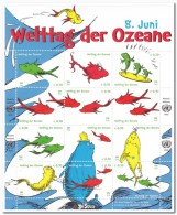 VN Wenen 2012 Postfris MNH World Day Of The Oceans - Unclassified