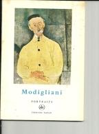 PEINTRE MODIGLIANI Petite Encyclopedie De L'art  N° 10  Portraits ABC 1957 - Encyclopédies