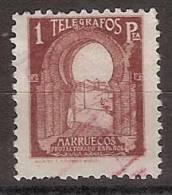 Marruecos Telegrafos 46 (o) Puerta - Marruecos Español