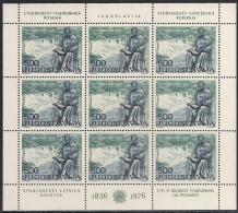 JUGOSLAWIEN 1976 Mi. 1655  /  120. Geburtstag Von NIKOLA TESLA MNH TOP - Blocchi & Foglietti