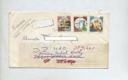 Lettre Flamme Muette Et Cachet Suivie Paris Naval Croiseur Colbert Curiosité - Machine Stamps (ATM)