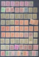Belgie - Belgique Ocb Nr : COLLECTION PREO  1947 Until 1963 (zie  Scan) Mint Or Used - Precancels