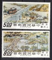 China: Taiwan 1968, City Of Cathay **, MNH (High Values) - Ongebruikt