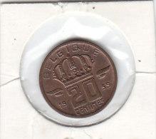20 CENTIMES Bronze Baudouin I 1959 FR - 01. 20 Centimes