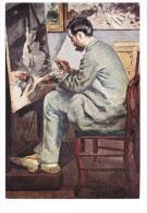 ART-118    AUGUSTE RENOIR : Portrait De Bazille ( 1867) - Sculture