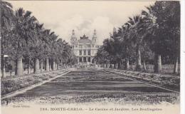 Monaco Monte Carlo Le Casino Et Jardins Les Boulingrins - Exotic Garden