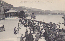 Monaco Monte Carlo Les Terrasses Et Kiosque - Terraces
