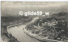 LYON - Panorama Sur La Saône, Vaise Et Serin  (Vue Prise De La Terrasse Du Passage Gay) - N° 5871 - Autres