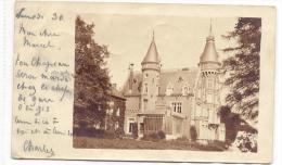 ROTHEUX-CHATEAU D´ENGLEBERMONT-KASTEEL-DE CORSWAREM-CARTE PHOTO ENVOYEE 1905-VOYEZ 2 SCANS-TOP - Neupré