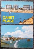CANET-PLAGE (66).LOT DE 3 CPM.VOIR DETAILS PHOTOS ET ANNONCE SVP. - Canet Plage