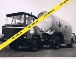 42 Saint Etienne Terrenoire CHAUDRONNERIE Camion WILLEME Citerne Gaz UTIGAZ - Automobiles