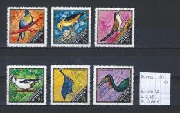 Vogels - Guinee 1971 - Yv. 440/45 Gest./obl./used - Vogels