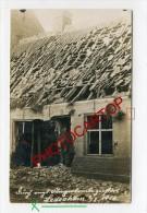 LEDEGEM-attaque Aerienne-Destructions-Carte Photo Allemande-Guerre 14-18-1WK-BELGIQUE-BELGIEN-Flandern- - Ledegem
