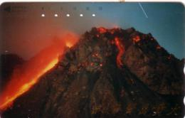 JAPON JAPAN VOLCAN VOLCANO ERUPTION UT RARE - Volcans