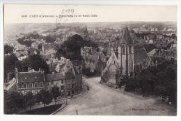 14  CAEN   Panorama Vu De Saint Gille - Caen
