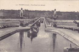 """45 - Briare - Pont-Canal (vu De Face, Animée, Péniche """"Bérichon"""") - Briare"""