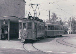 Tramways Balois, Aesch Photo 1960, BVA SVB 196.3 - BS Bâle-Ville