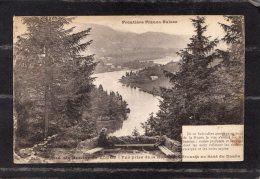 42490 Francia, Entree  Des  Bassins Du  Doubs - Vue  Prise  De La  Route Du Brenets Au  Saut Du Doubs, NV(scritta) - Francia