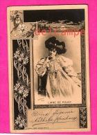 Liane De Pougy - Actrice, Demi Mondaine, Cocotte, Courtisane - 1903 Reutlinger - Actress, Half-society Woman, Courtesan - Artistes