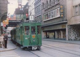 Tramways Balois, Basel Clarastrasse, Photo Rochaix 1978, SVB 196.R - BS Bâle-Ville