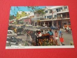 Bermuda  Hamilton Front  Street - Bermudes