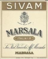 C 502- VECCHIA ETICHETTA - DITTA SIVAM - MARSALA - Altri