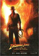 CPM Indiana Jones 4 Et Le Royaume Du Crâne De Cristal, 21 Mai 2008 - Affiches Sur Carte
